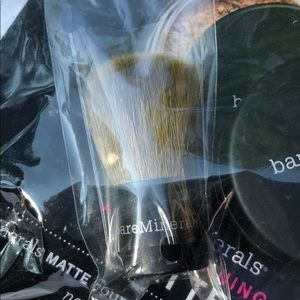 bareMinerals Makeup - Bare Minerals Mini Kabuki brush w/travel jar